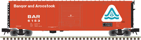 "Atlas O 3005709 - 50' PS-1 Single Door Boxcar ""Bangor & Aroostock"""