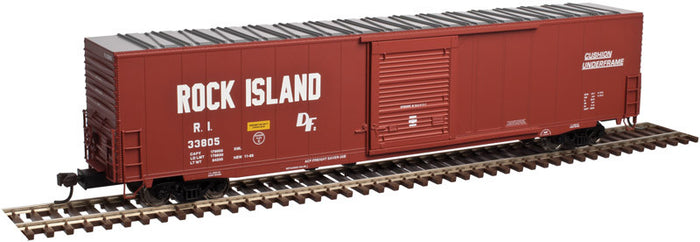 "Atlas O 3005910 - 60' Auto Parts Box Car - Single Door ""Rock Island"""