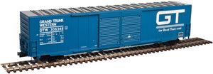 "Atlas O 3005911 - 60' Auto Parts Box Car - Double Door ""Grand Trunk Western"""