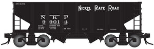 "Atlas O 3006818 - 55-Ton Coal Hopper ""Nickel Plate Road"" - 2 Rail"