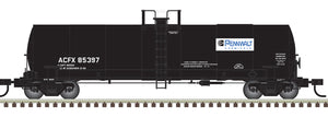 "Atlas O 3007210 - ACF® 17,360 Gallon Tank Cars ""Pennwalt"""