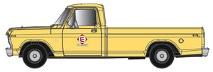 Atlas O 3009944 - Ford F100 - 1/48th Scale - Erie Lackawanna (Yellow)