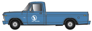 Atlas O 3009945 - Ford F100 - 1/48th Scale - Great Northern (Blue)
