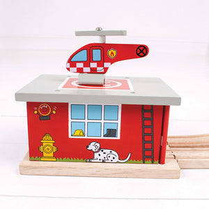 BigJigs BJT262- Fire Station Shed