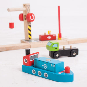BigJigs BJT254 - Container Shipping Yard
