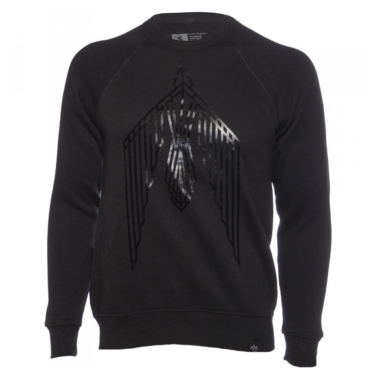 Trip Lee Black Rise Bird Sweatshirt