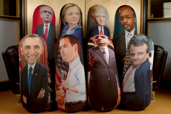 Presidential Debates Are Much Better with Punching Bags