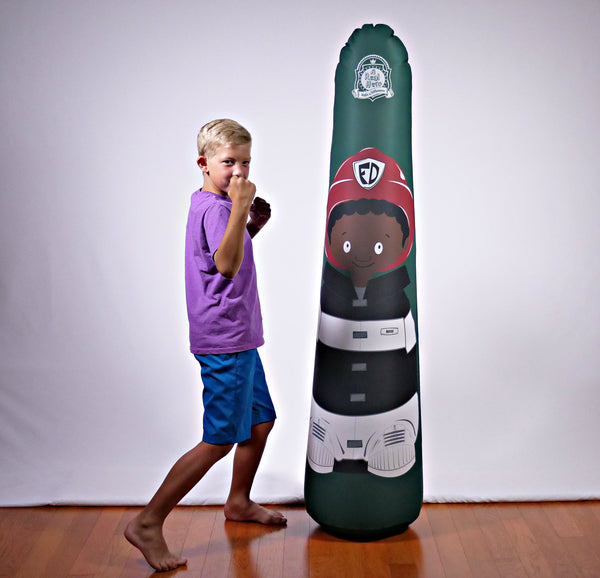 Inflatable Punching Bag Kids Gift Mason Fireman Toy