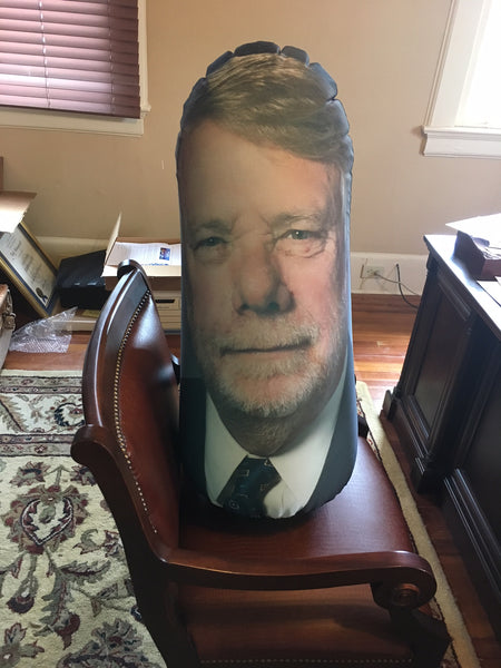 Inflatable Punching Bag Custom Gag Gift From Any Photo