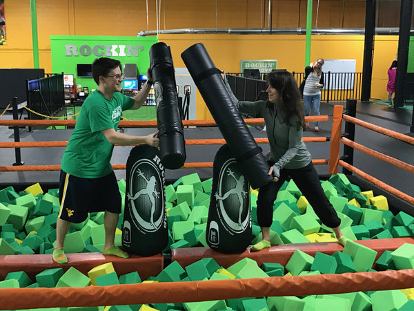 Inflatable Punching Bag Custom Pop Ups for Kids Fun Parks and Promotion