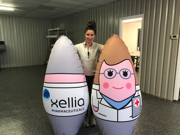 Promotional Product Custom Pop Up Inflatables For Brand Activation