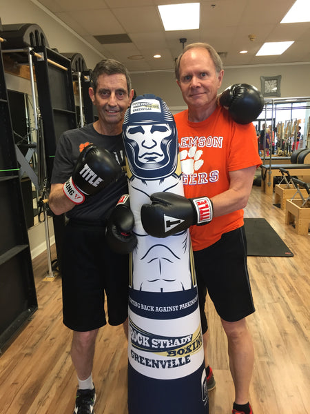 Virtual RSB Fitness Class with Portable Pop Up Punching Bags