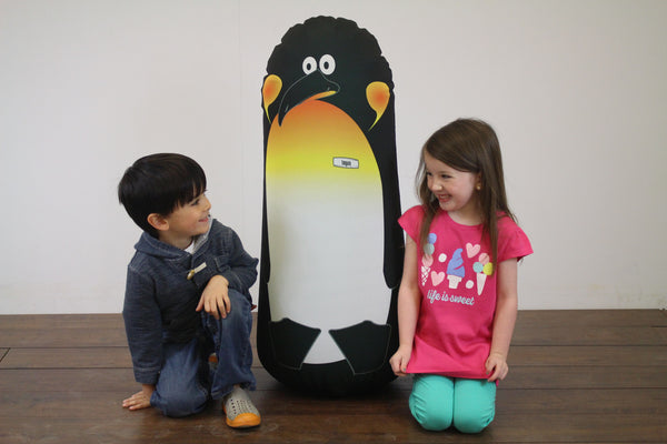Inflatable Punching Bag Kids Gift Logan Penguin