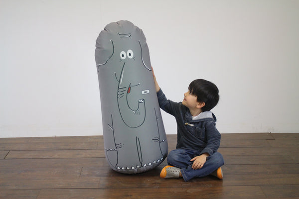 Inflatable Punching Bag Toy Kids Gift Abigail Elephant