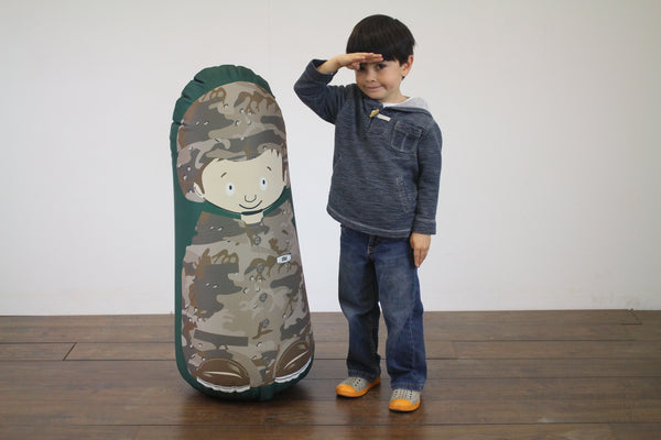 Bonk Fit Soldier Ethan Pop-up Inflatable