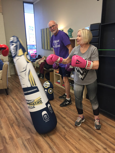 Inflatable Punching Bag Portable Custom Boxer For Parkinson's Symptoms