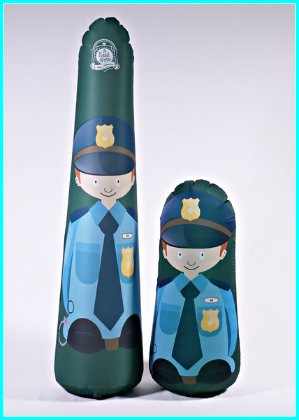 Inflatable Punching Bag Kids Gift Tom Police Officer Toy
