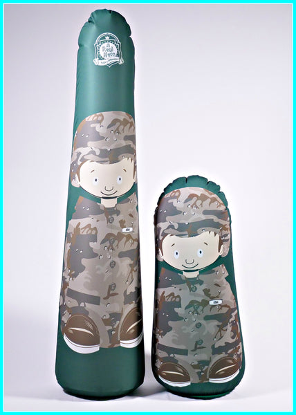 Inflatable Punching Bag Kids Gift Soldier Ethan
