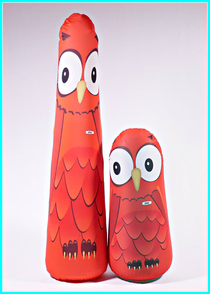 Inflatable Punching Bag Kids Gift Emma Owl Toy