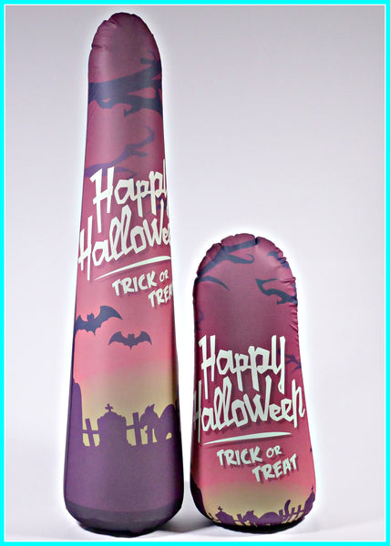 Inflatable Punching Bag Kids Gift Trick or Treat Halloween Toy