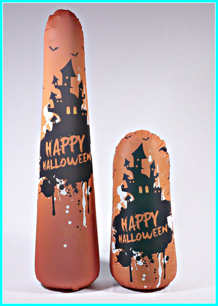 Inflatable Punching Bag Kids Gift for Haunted House Halloween Toy