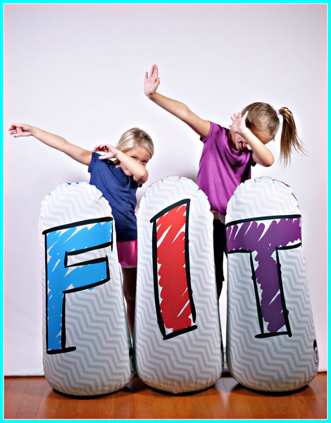 Homeschool Fitness & Learning Pop Up Inflatables