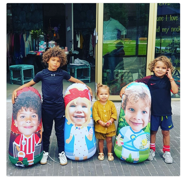 Inflatable Punching Bag Custom Kids Gift From Any Photo