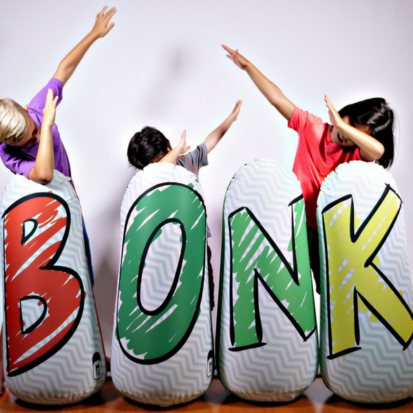 Bonk Fit Kids Learning Pop-up Inflatable