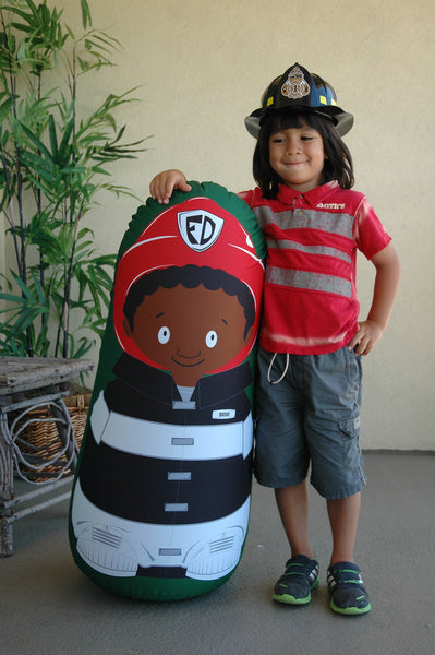 Bonk Fit Fireman Mason Pop-up Inflatable