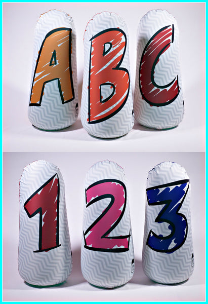Pop Up Inflatable Punching Bags For Kinesthetic Learners