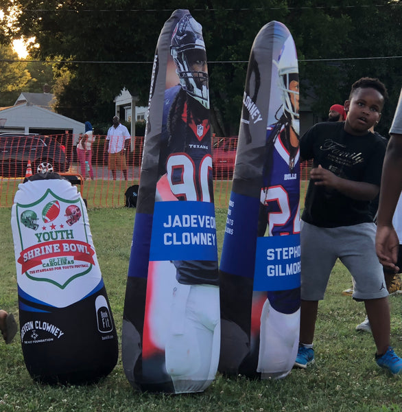 Bonk Fit Custom Youth Football Pop-up Inflatable