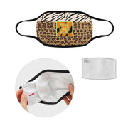 PMH Save Lives Here Face Mask Animal Print (2 Carbon Filters Included) - Place Money Here