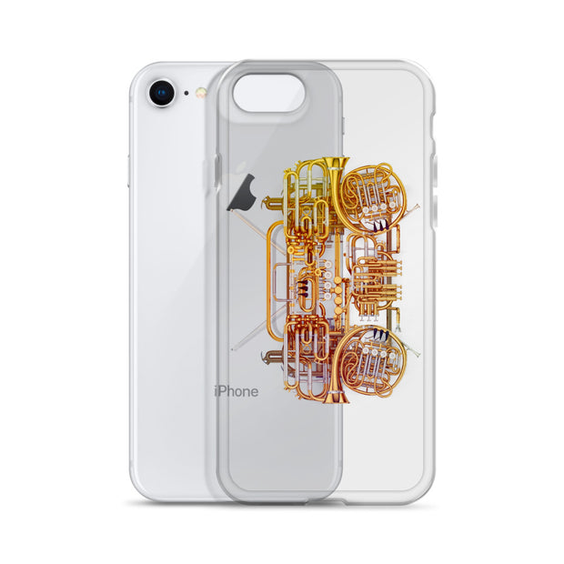Termanology Vintage Horns iPhone Case