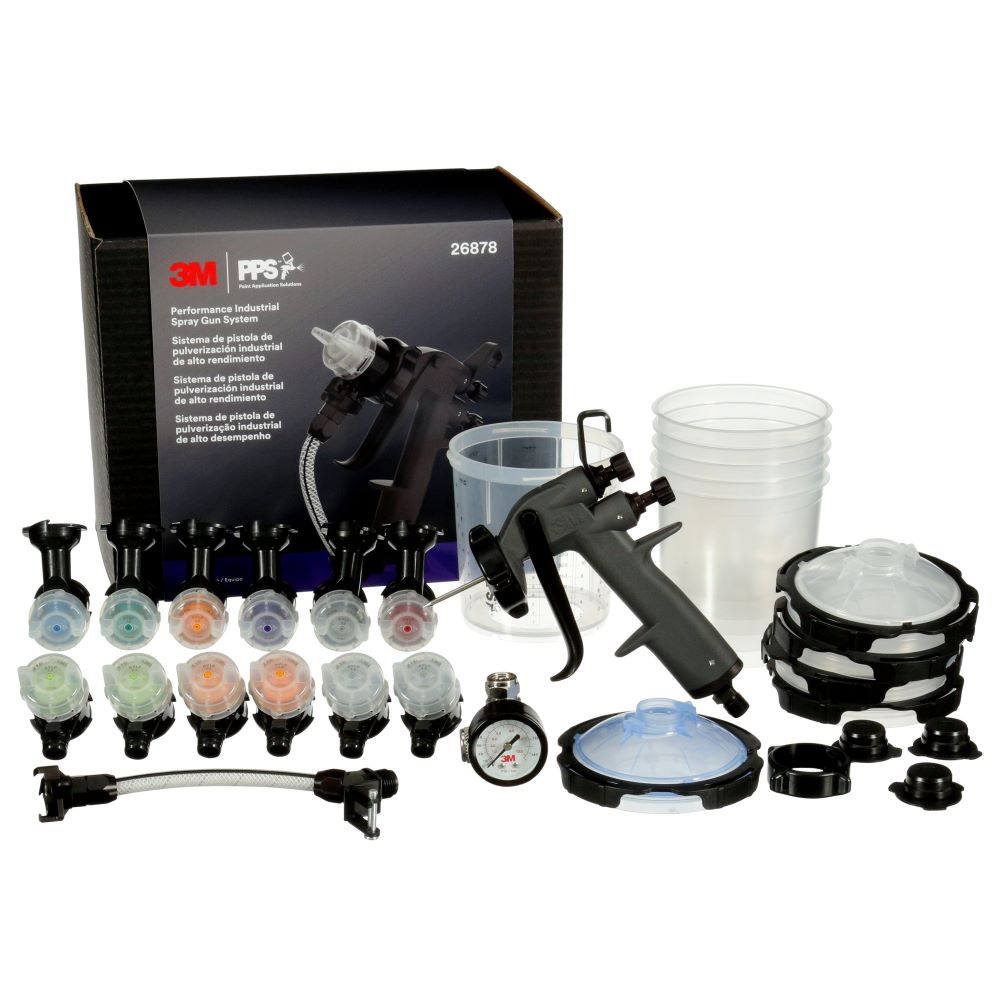 3M™ Performance Industrial Spray Gun HVLP System – (26878)