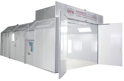global finishing systems spray booth information