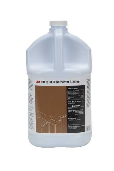 3M™ HB Quat Disinfectant Cleaner Concentrate – 1 Gallon (23556)