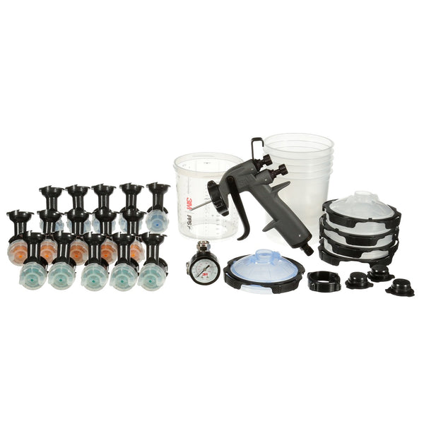 3M™ Performance Gravity HVLP Spray Gun System with PPS™ Series 2.0 – (26778)