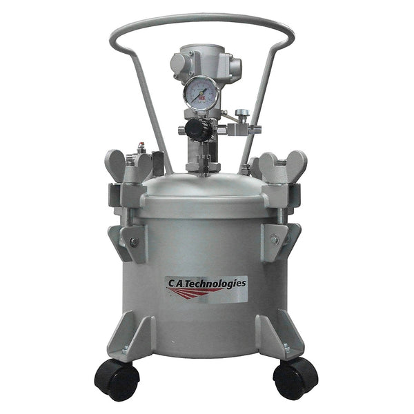 C.A. Technologies 2.5 Gallon Paint Pressure Tank with Pneumatic Agitation (mixer)