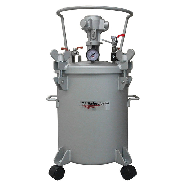 C.A. Technologies 5 Gallon Pressure Tank with Pneumatic Agitation (mixer)