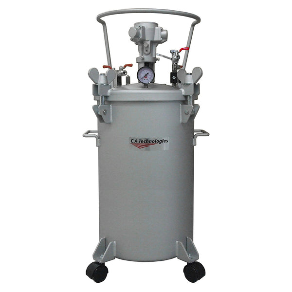 C.A. Technologies 10 Gallon Paint Pressure Tank with Pneumatic Agitation (mixer)