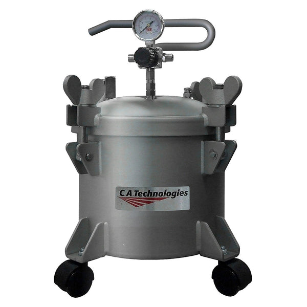 C.A. Technologies 2.5 Gallon Stainless Steel Paint Pressure Tank