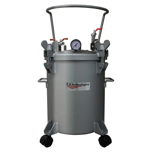 C.A. Technologies 5 Gallon Stainless Steel Paint Pressure Tank