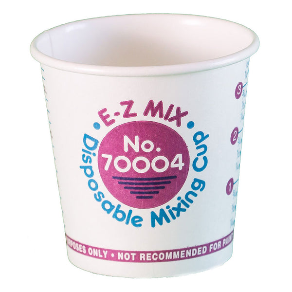 E-Z Mix ¼ Pint (4 oz.) Disposable Measuring & Mixing Cups