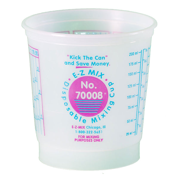 E-Z Mix ½ Pint (8 oz.) Disposable Measuring & Mixing Cups