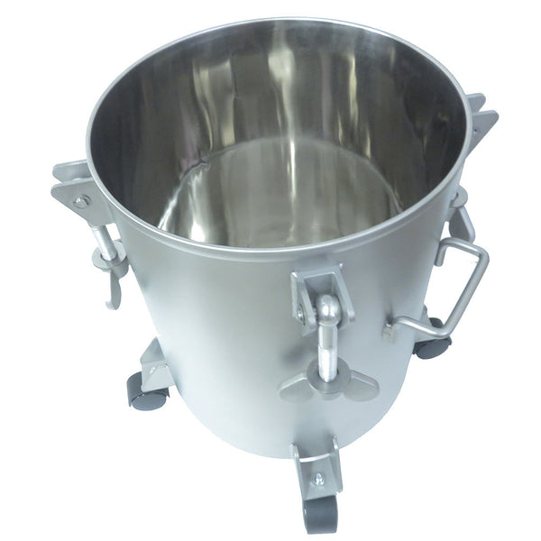 Performance Series 5 Gallon Stainless Steel Paint Pressure Tank with Pneumatic Agitation (mixer)