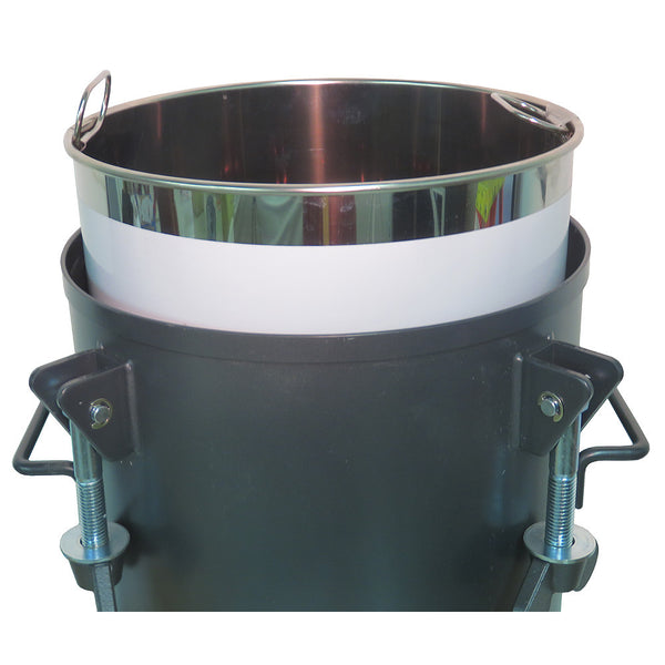 Performance Series 10 Gallon Paint Pressure Tank with Manual Agitation (mixer)