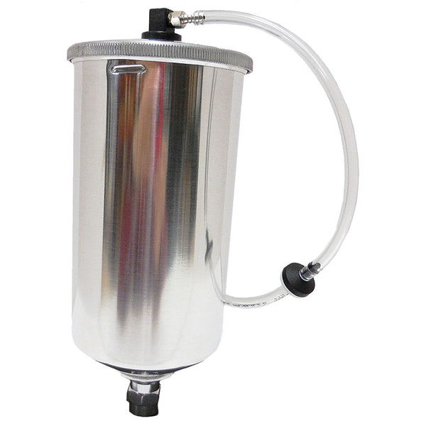 Apollo 1000 ml (34 oz) Aluminum Gravity Pressure Cup Assembly (Non-Teflon) - (A7536A)