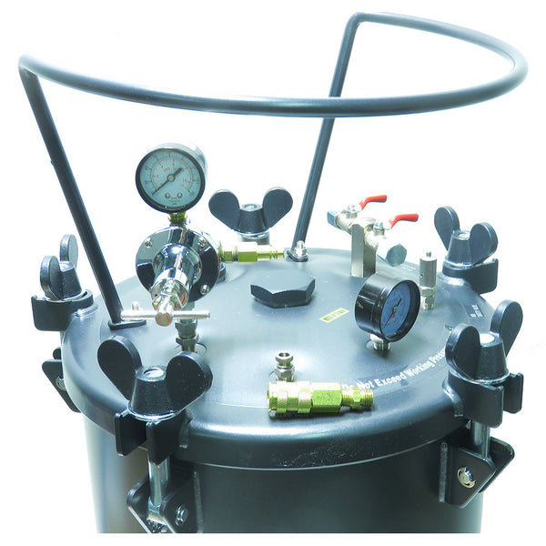 Performance Series Resin Casting 15 Gallon Pressure Tank