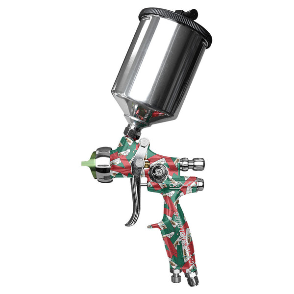 "C.A. Technologies CAT-X Gravity Feed HVLP & RP Spray Gun (Model ""MX"" - Mexico Flag)"