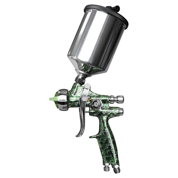 "C.A. Technologies CAT-X Gravity Feed HVLP & RP Spray Gun (Model ""S"" - Green Skull)"